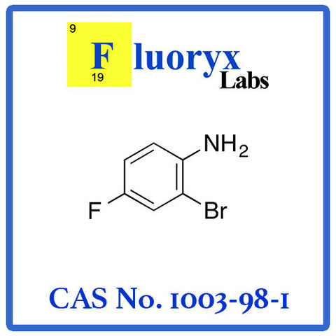 2-Bromo-4-fluoroaniline | Catalog No: FC10-03 | CAS No: 1003-98-1