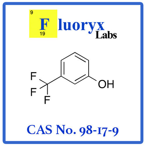 3-Hydroxybenzotrifluoride; 3-(Trifluoromethyl)phenol; cresol | Catalog No: FC10-10 | CAS No: 98-17-9