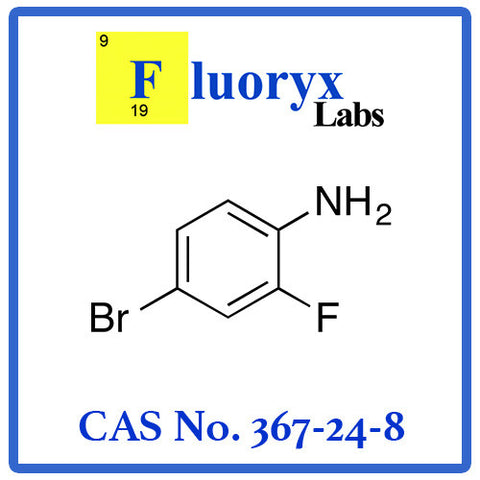 4-Bromo-2-fluoroaniline | Catalog No: FC10-14 | CAS No: 367-24-8