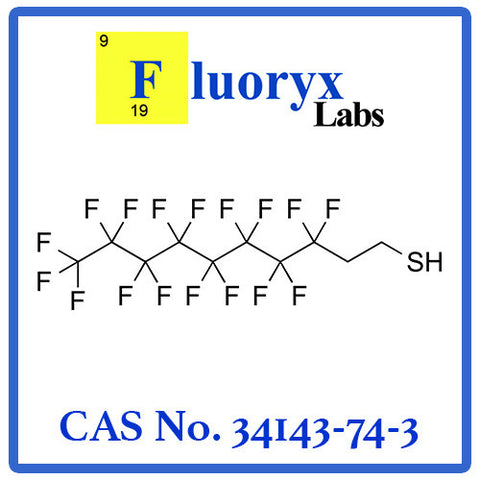 2-Perfluorooctyl Ethyl Thiol | Catalog No: FC18-08 | CAS No: 34143-74-3