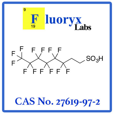 2-(Perfluorohexyl)ethane-1-sulfonic acid | Catalog No: FC25-06 | CAS No: 27619-97-2