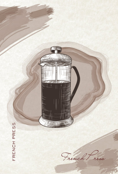 French Press Brewer How to Brew