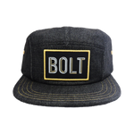 BBC Bolt 5 Panel Hat Front