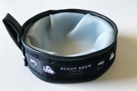 Dog Trail Buddy Travel Bowl
