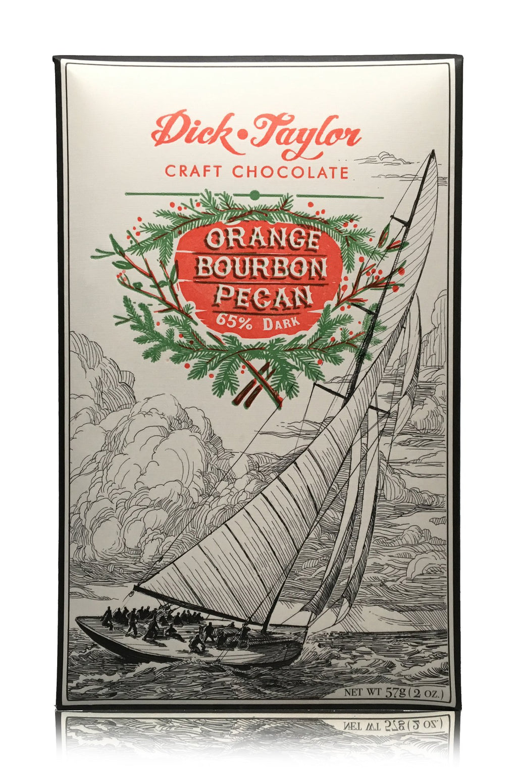 Dick Taylor Dark Chocolate - Orange Bourbon Pecan