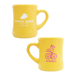 onbikes x Buddy Brew Coffee - Bright Yellow Diner Mug