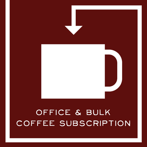 Office and Bulk Coffee Subscription