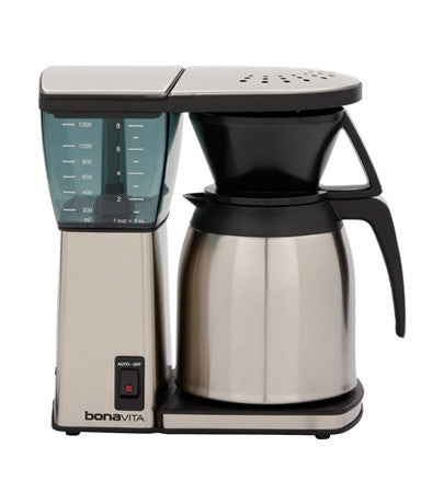 Bonavita 8 Cup Coffee Brewer with Thermal Stainless Steel Lined Carafe