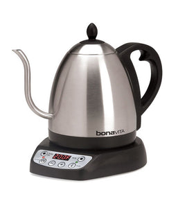 Bonavita 1.0 Liter Gooseneck Variable Temperature Electric Kettle