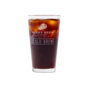 Buddy Brew Coffee Pint Glass
