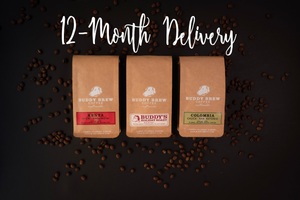 Coffee Club - 3-Bag Sampler - 12-Month