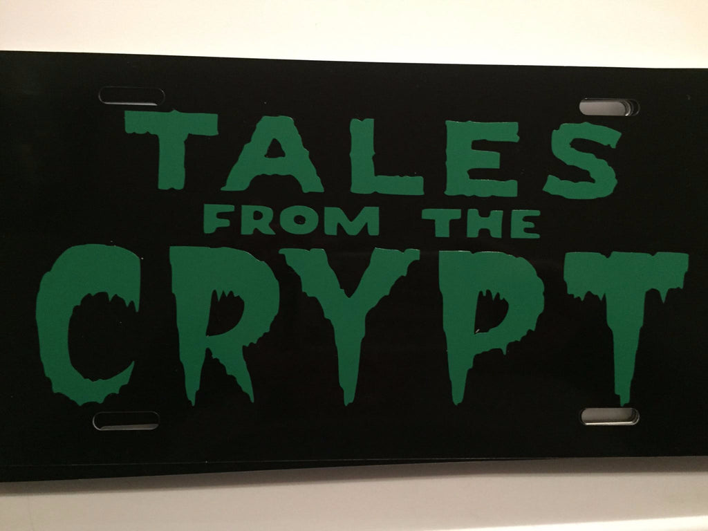 Tales From The Crypt License Plate