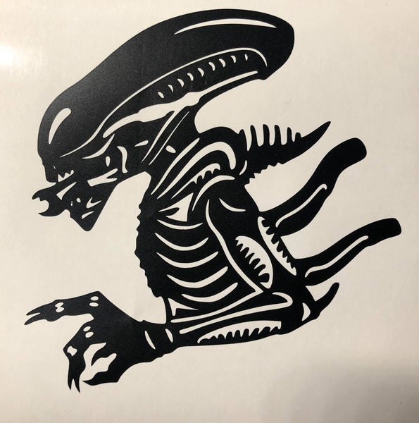 2020 Alien Car Decal