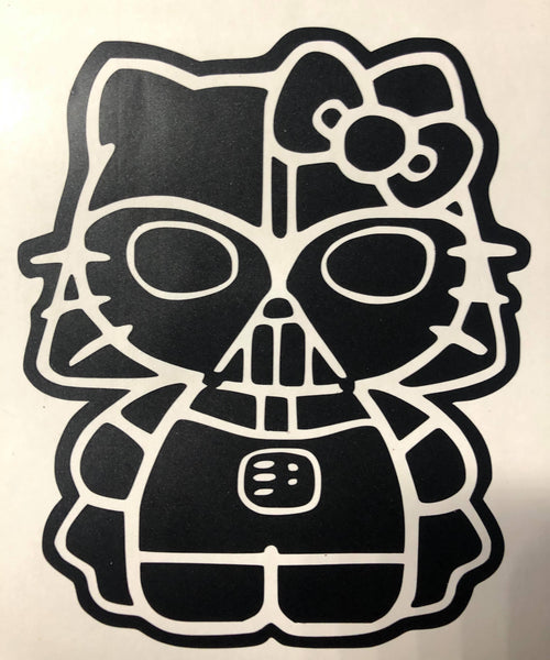 2020 Darth Kitty Car Decal
