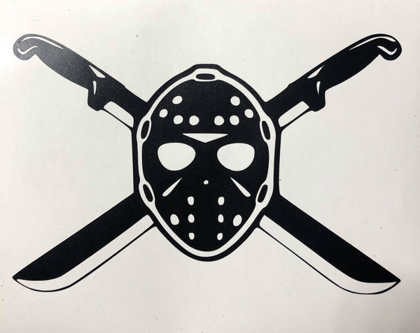 2020 Friday the 13th Car Decal