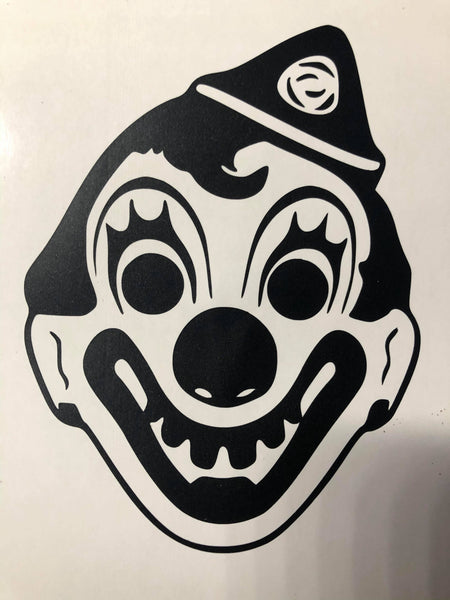 2020 Halloween Clown Decal
