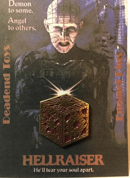Hellraiser Puzzle Box Enamel Pin