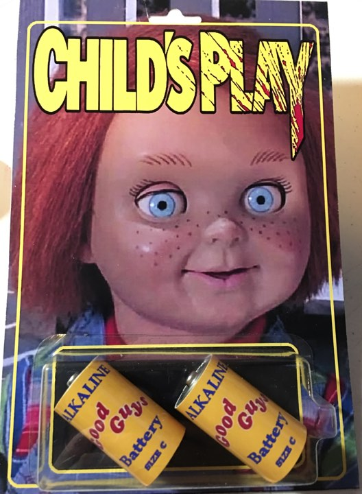 Childs Play Retro Style Custom Good Guy Batteries