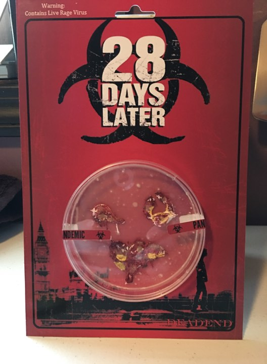 28 Days Later RAGE VIRUS CUSTOM