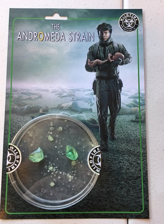 Andromeda Strain TV Series Wildfire Retro Style Custom