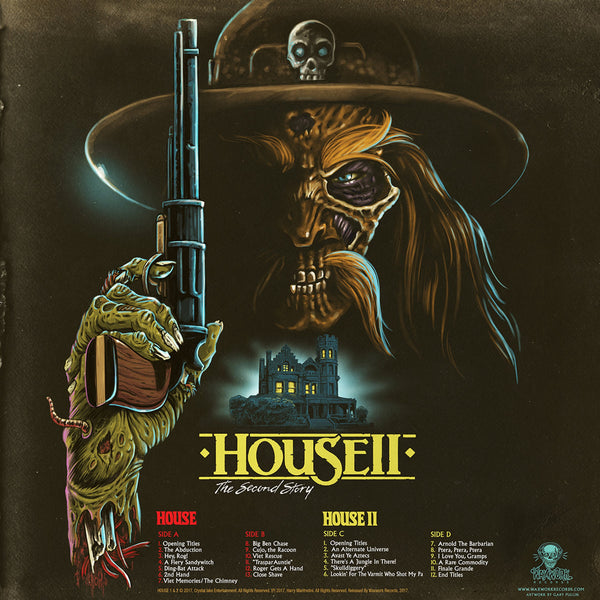 House 1 & 2 Waxworks Record *Sealed* Big Ben Edition
