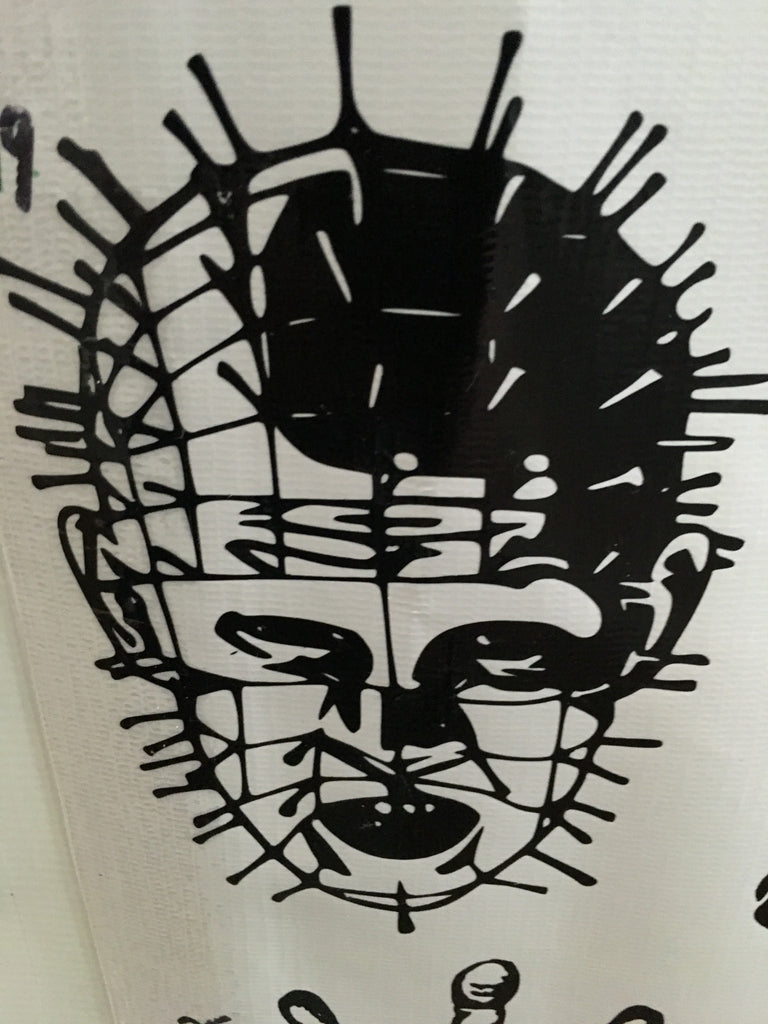 Hellraiser Pinhead Car Decal