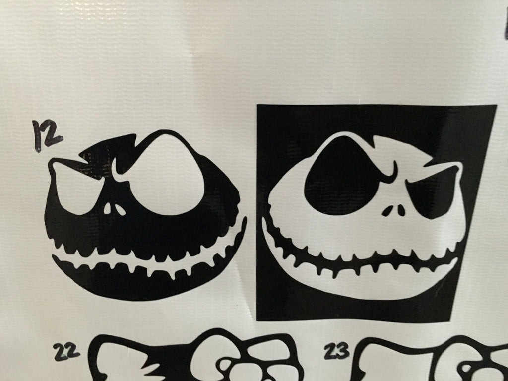 Nightmare Before Christmas Decals For Walls Photo Album - Christmas ...