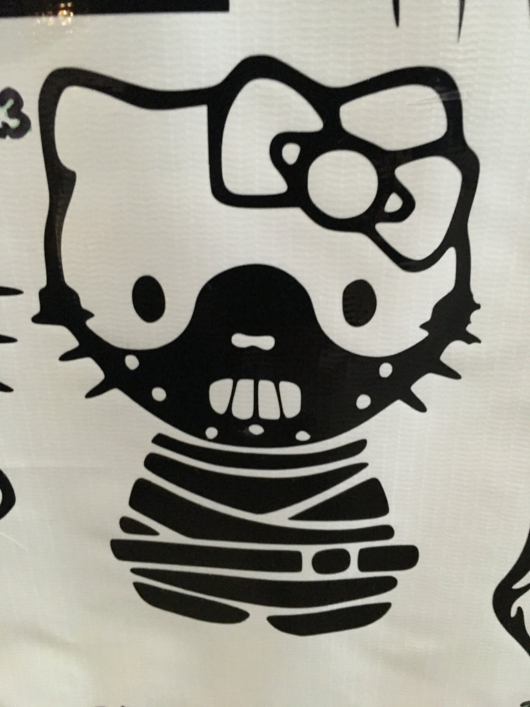 Hello Kitty Hannibal Lecter Car Decal (23)