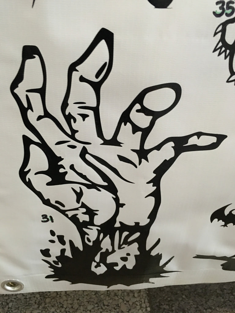 Zombie Hand Car Decal (31)