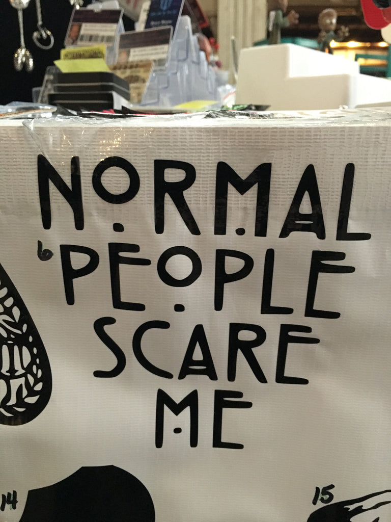 Normal People Scare Me Car Decal (6)