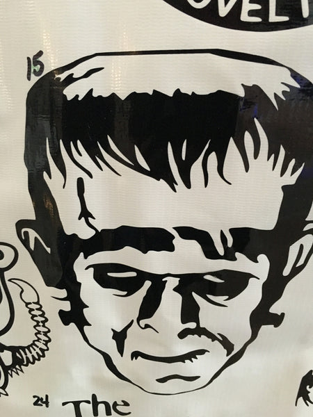 Frankenstein Car Decal (15)