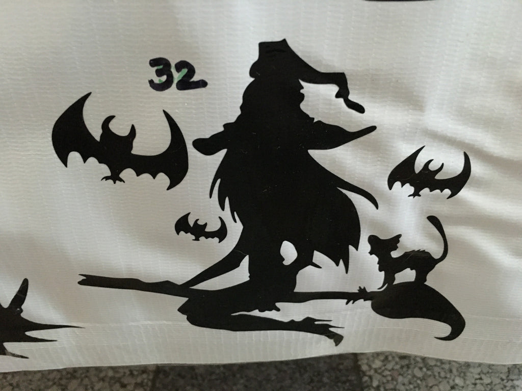 Witch Car Decal (32)