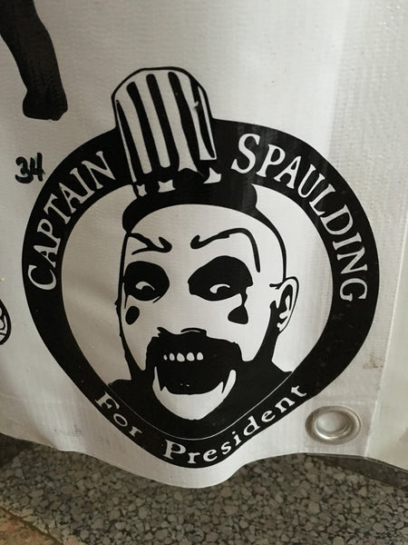 Captain Spaulding For President Car Decal (34)