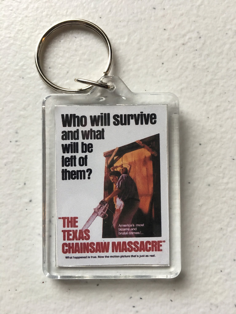 Texas Chainsaw Massacre Keychain FREE SHIPPING