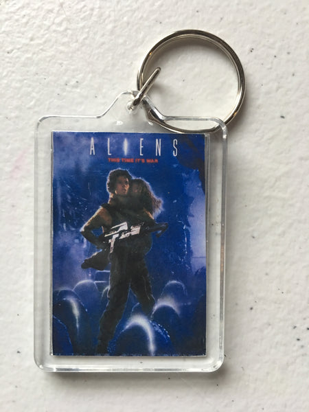 Aliens Keychain FREE SHIPPING