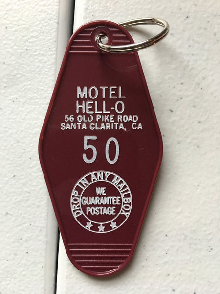 Motel Hell Keychain FREE SHIPPING