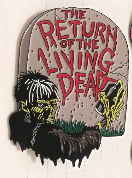 Return of the Living Dead Glow in the Dark Pin