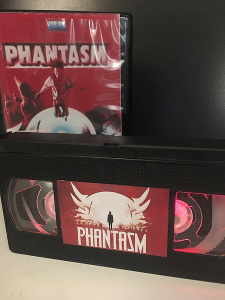 Phantasm Illuminated VHS Tape