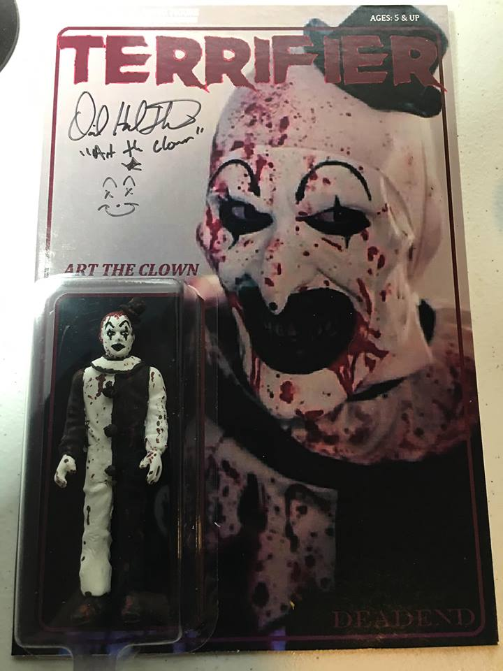 Art The Clown Terrifier Autographed Custom