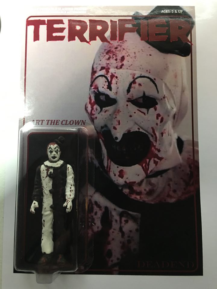 Art The Clown Terrifier Custom
