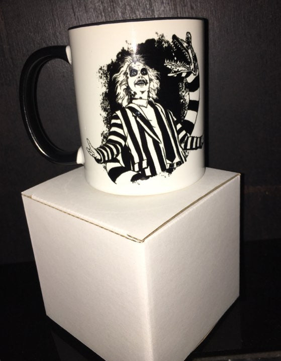 """Sandworms Ya Hate 'Em Right!"" Beetlejuice Mug"