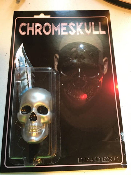 Chrome Skull Retro Style Custom