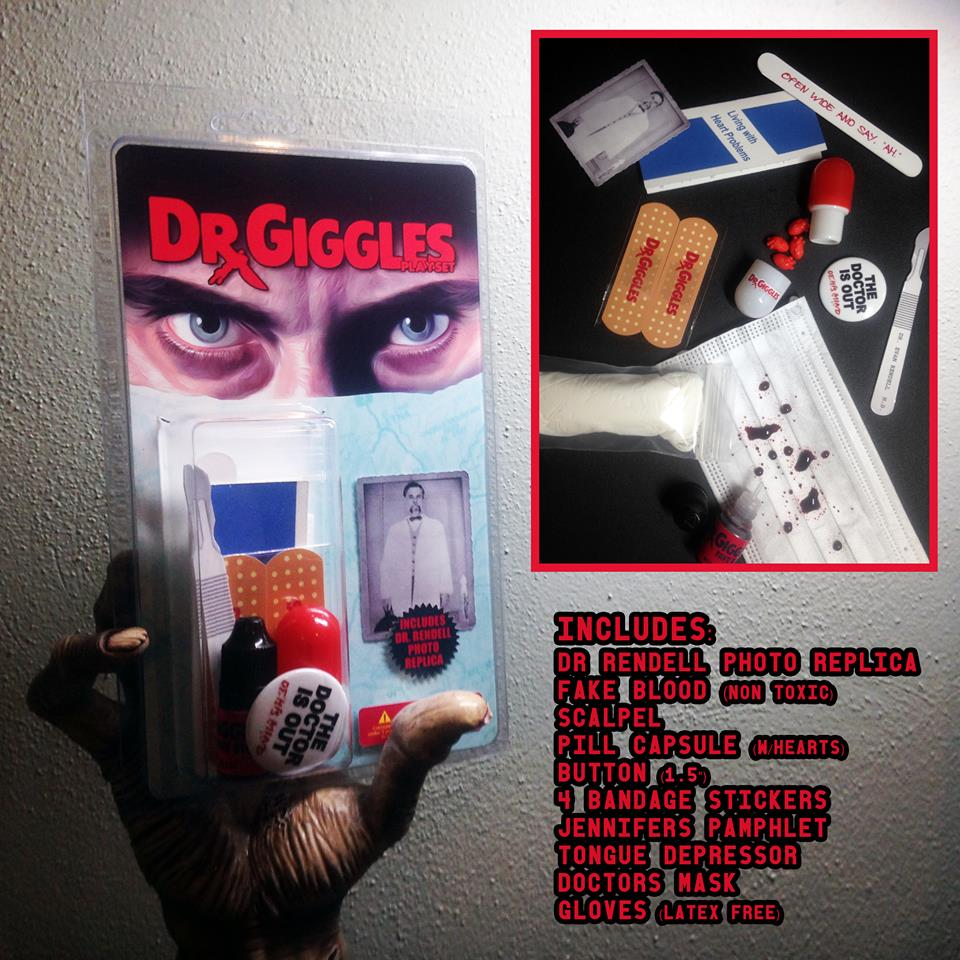 Dr Giggles Limited Numbered Edition