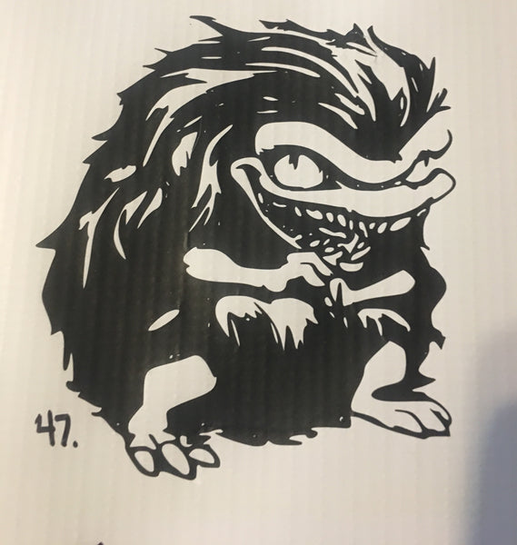 Critters Car Decal (47)