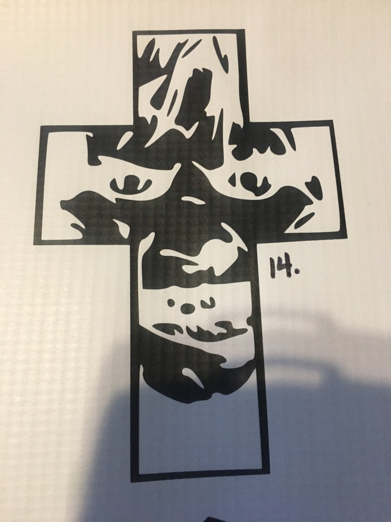 Exorcist Car Decal (014)