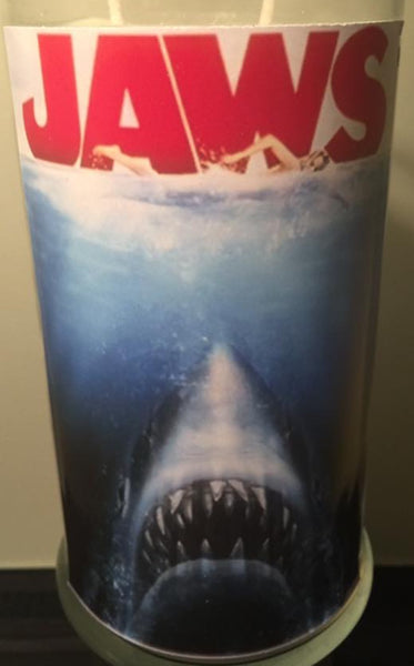 House of Wax Jaws Candle
