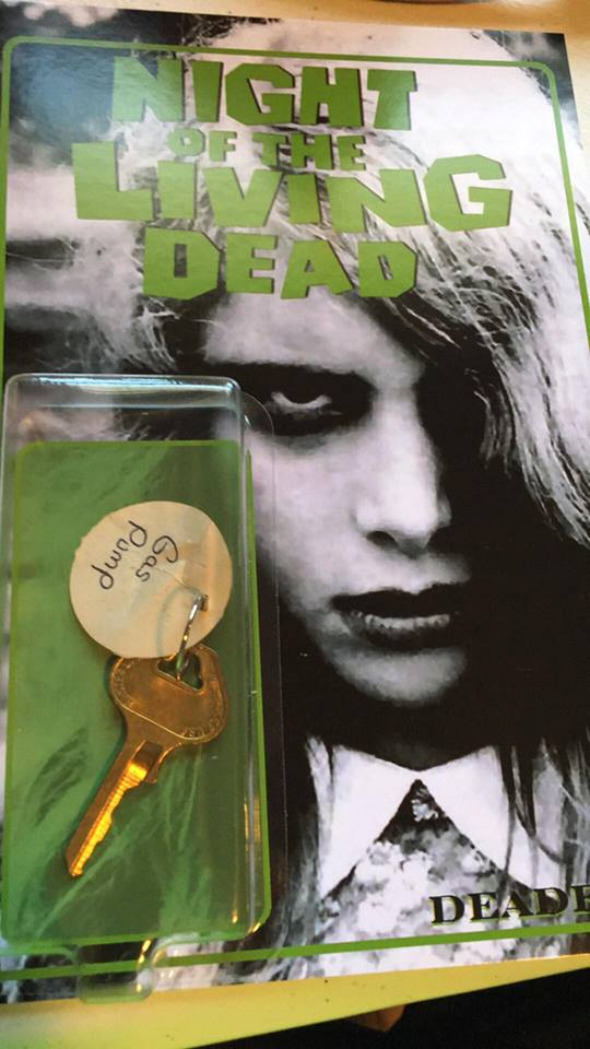 Night of the Living Dead Custom Gas Pump Key