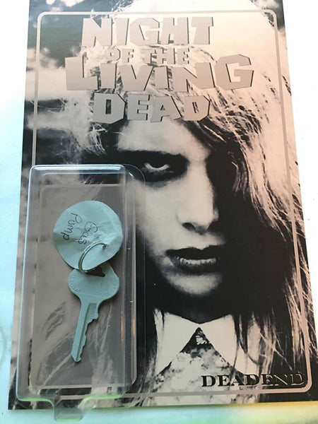 Night of the Living Dead Gas Pump Key Black and White Custom (Variant)
