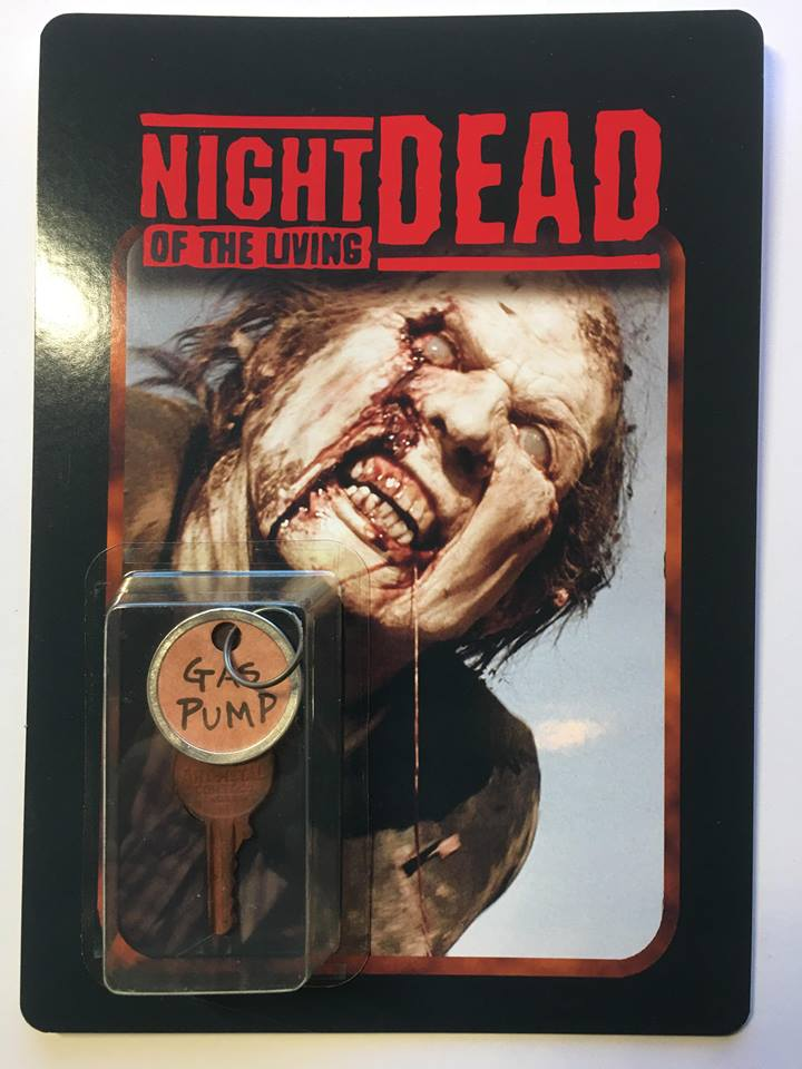 Night of the Living Dead *Remake* Gas Pump Key Limited Editon