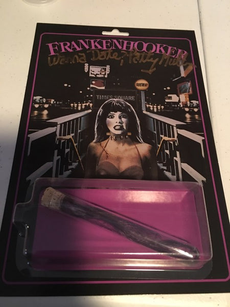 SUPER LIMITED EDITION Frankenhooker AUTOGRAPHED Retro Style Card with COA